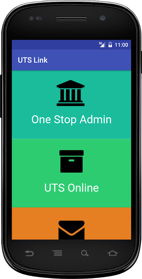 UTS Link- screenshot