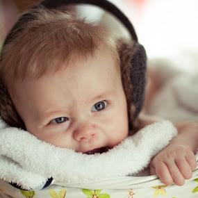 .. by Lubomir Gobs - Babies & Children Babies ( home, d700, family, f1.4d, 50mm, baby, cute, nikon, bokeh, portrait )