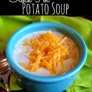 Paula Deen's Crock Pot Potato Soup.