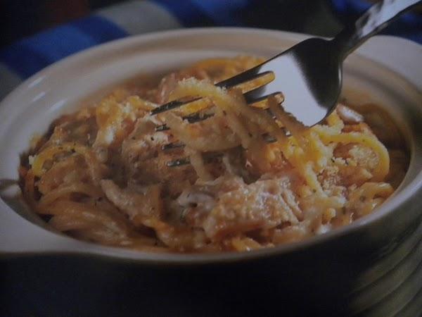 Chicken Caeser Tetrazzini Recipe