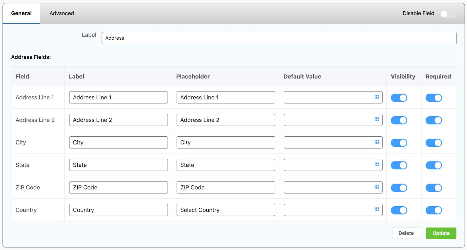 address field wppayform, recurring payment wordpress