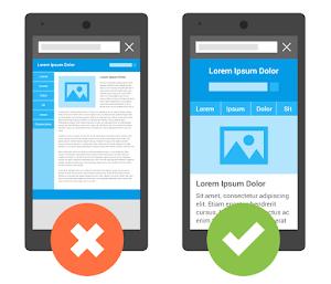 Google เปรียบเทียบหน้าตาเว็บไซต์ระหว่างรองรับมือ กับไม่รองรับมือถือ