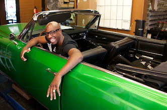 """Photo: Actor JB Smoove was photographed at his favorite Los Angeles auto shop. He is best known for playing Larry David's sidekick, Leon, on HBO's """"Curb Your Enthusiasm"""" but has a lot more coming. He's got a busy December and January with a role in the new movie """"We Bought a Zoo,"""" a correspondent spot on NBC's """"New Year's Evewith Carson Daly,"""" and two Comedy Central stand-up specials. Did we forget to mention he's also got his own comedy website, TheRuckus.com? Photo by Jefferson Graham, USA TODAY."""