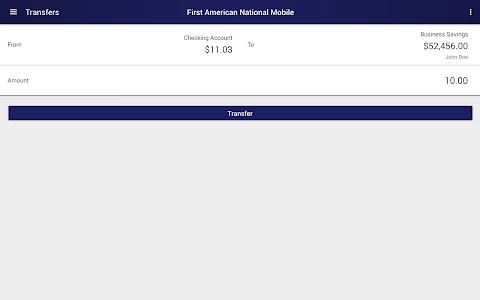 First American National Mobile screenshot 7