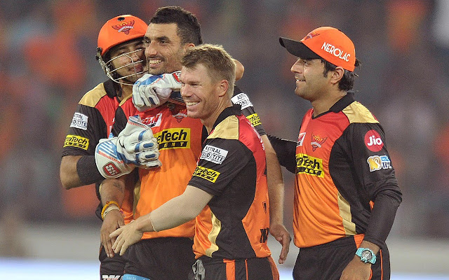 Sunrisers Hyderabad Tab