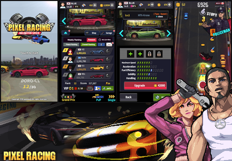 Pixel Racing 1.1.3 screenshots 2