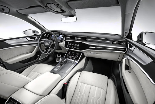 The second generation adopts much of the interior of the upcoming new A8