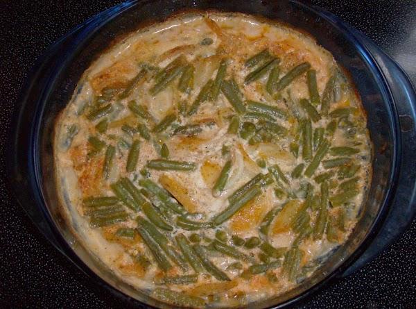 Green Bean & Scalloped Potato Casserole Recipe