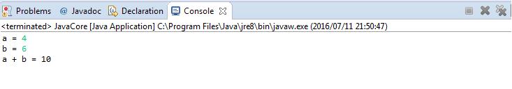 Java - Tính tổng 2 số nguyên