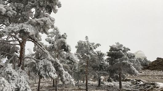 Alerta naranja por nevadas en el interior de la provincia