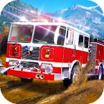 Offroad Firefighter: Firetruck Simulator Icon