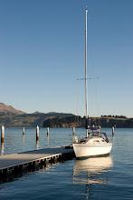 Photo: Ready for an evening sail - Good Point - Lyttelton Harbour