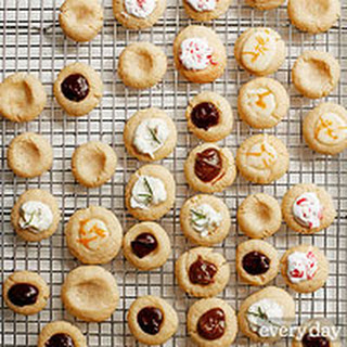 Vanilla Thumbprint Cookies