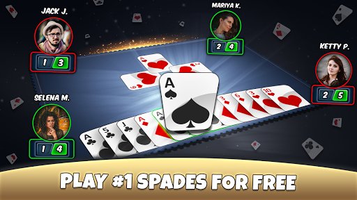 Spades - Play Card Game 5.6 APK MOD screenshots 1