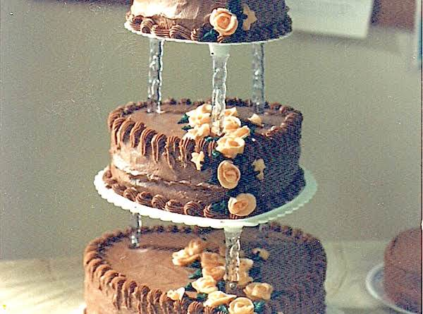 I've Made Several Wedding Cakes [including My Daughters] With This Icing And Have Had Many Compliments On This Recipe.