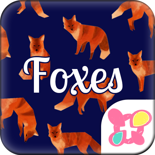 Animal Wallpaper Foxes Icon