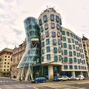 Ginger and Fred, Prague by Filippo Bianchi - Buildings & Architecture Other Exteriors