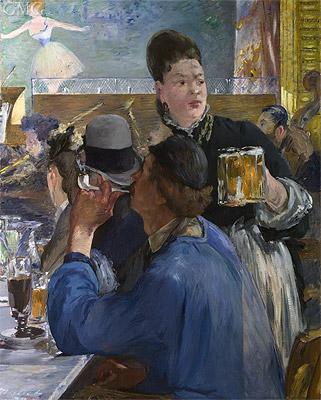 Photo: Corner in a Cafe - Concert, c.1878/80