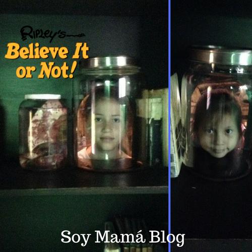 Museo de Ripley en Veracruz con niños: Sofía y Maia enfrascadas