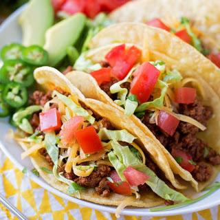 Favorite Beef Tacos.