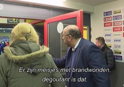 """? Le président du Beerschot furieux :  """"Des enfants sont à l'hôpital, c'est écoeurant"""""""
