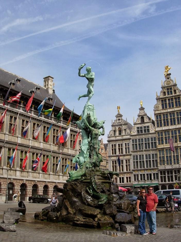Fontaine de Brabo à Anvers