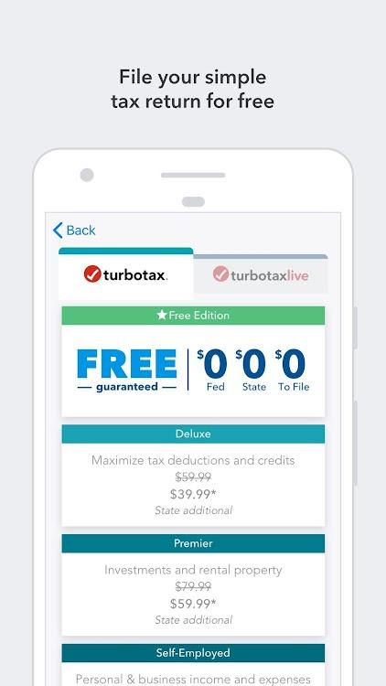 TurboTax Tax Return App – Max Refund Guaranteed – (Android