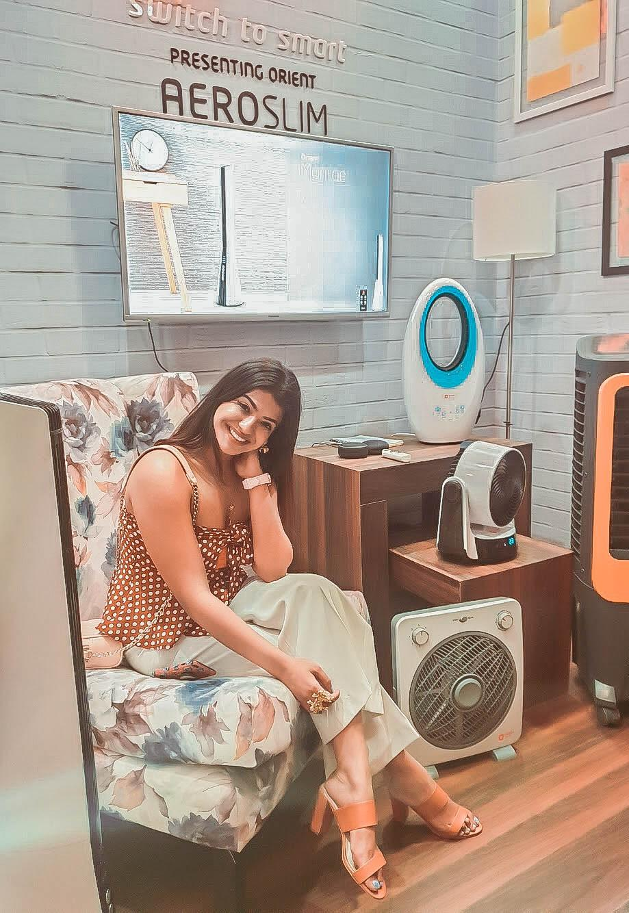 Orient Electric X Ashima Leena Official image