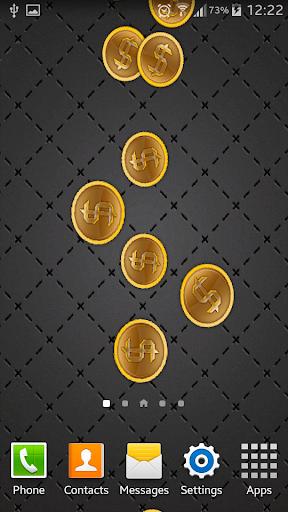 Gold Coins Live Wallpaper