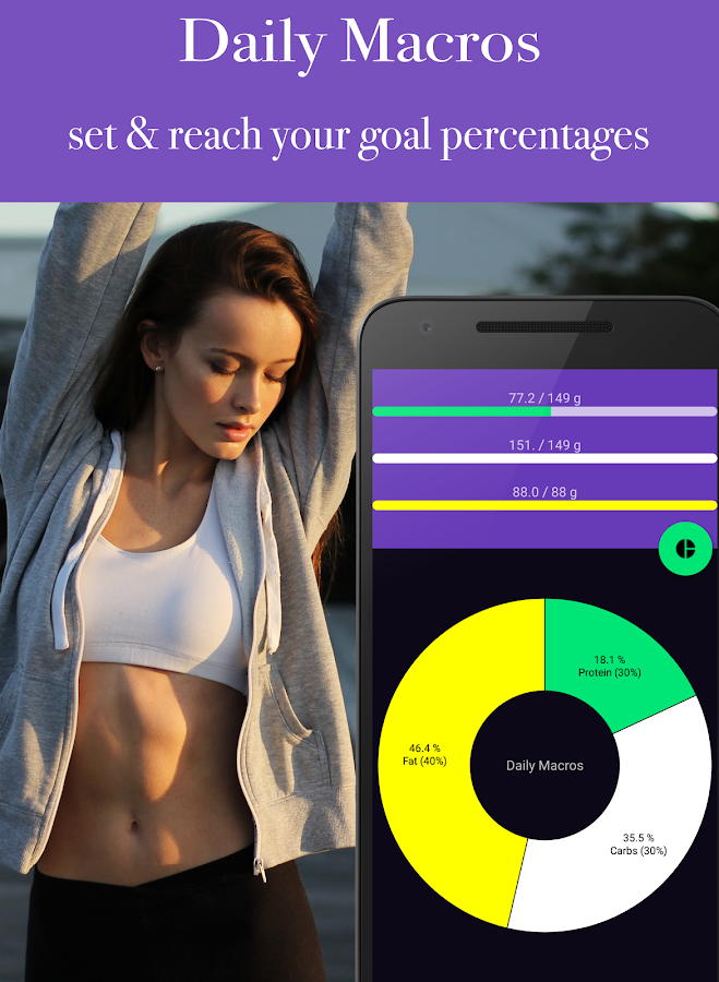 Calorie Counter - EasyFit free- screenshot