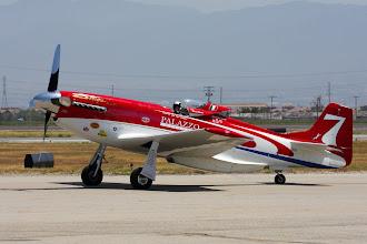 Photo: Strega - hodně předělaný P-51D Mustang pro závody v Renu