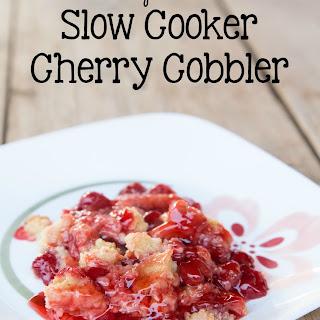 Slow Cooker Cherry Cake.