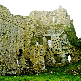 Ruins  by Ioan G Hiliuta - Buildings & Architecture Statues & Monuments ( walls, ireland, ruin, castle, abandoned )