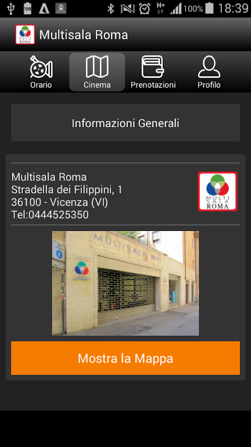 Multisala Roma- screenshot
