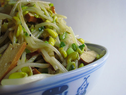 soybean sprout tofu stir fry