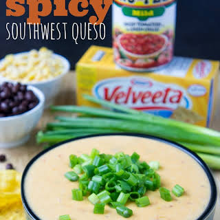 Spicy Southwest Queso Dip.