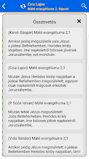 Szent Biblia- screenshot thumbnail