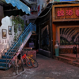 by Alfonso Bullock - City,  Street & Park  Markets & Shops ( china, city, oil painting village, shenzhen, dafen, guangdong, street photography )