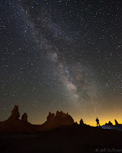 """Photo: Stargazing - Winning Image, People and Space Category  Update 9/8/2011 - This image won the <b>People and Space</b> category in the  <b>Astronomy Photographer of the Year 2011</b> competition conducted by the Royal Observatory, Greenwich (home of Greenwich Mean Time and the Prime Meridian).    My daughter <b>Nicole Sullivan</b> won Runner Up (second place) in the <b>Young Astronomer</b> category.  They sent a film crew up from Los Angeles and interviewed her for 7 hours!  Here's the video: <a href=""""http://www.vimeo.com/28740663"""" rel=""""nofollow"""">www.vimeo.com/28740663</a>  Full results including all awarded images: <a href=""""http://www.nmm.ac.uk/visit/exhibitions/astronomy-photographer-of-the-year/winners-2011/"""" rel=""""nofollow"""">www.nmm.ac.uk/visit/exhibitions/astronomy-photographer-of...</a>  --- This is a self portrait under the Milky Way.    I was having too much fun pursuing Milky Way and star trail photos to sleep, but after catching sunrise I eventually caught a couple of hours of sleep from 6:15am-8:15am."""