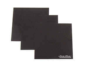 "BuildTak 3D Printer Build Surface 4.5"" x 4.5"" Square (Pack of 3)"