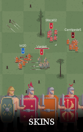 Centur.io - Rome vs Barbarians Multiplayer Game  captures d'écran 2