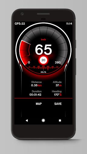 Speed View GPS screenshot 2