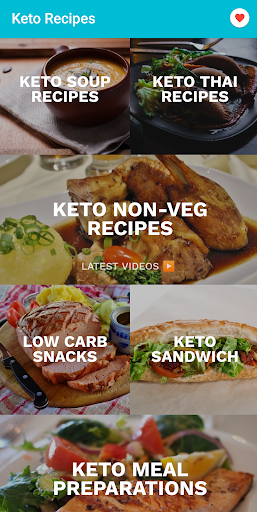 Keto recipes: Lite and easy Keto diet app 3.0.46 screenshots 2