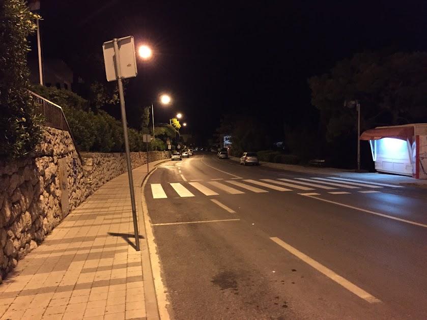 ドゥブロヴニク 夜道