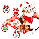 Christmas Cat Theme file APK Free for PC, smart TV Download