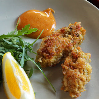 Butter-Fried Oysters
