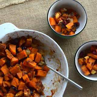 Apple Cranberry Sweet Potato Bake