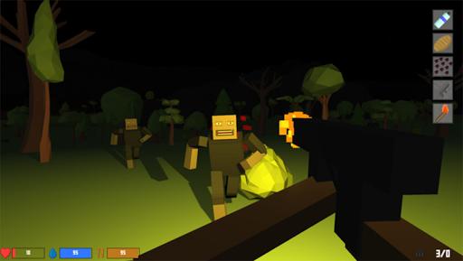 Pixel Block Survival Craft screenshot 16