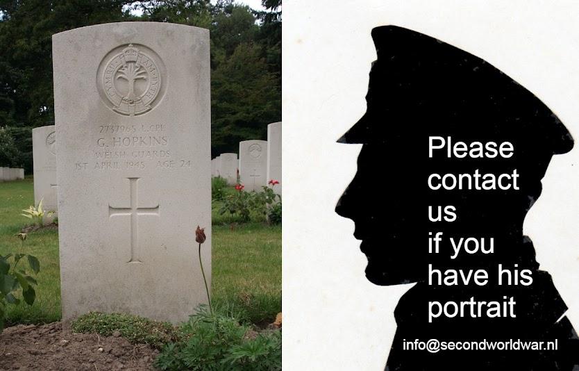 Lance Corporal Garfield Hopkins, Welsh Guards.