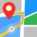GPS、地図、音声ナビゲーションと目的地